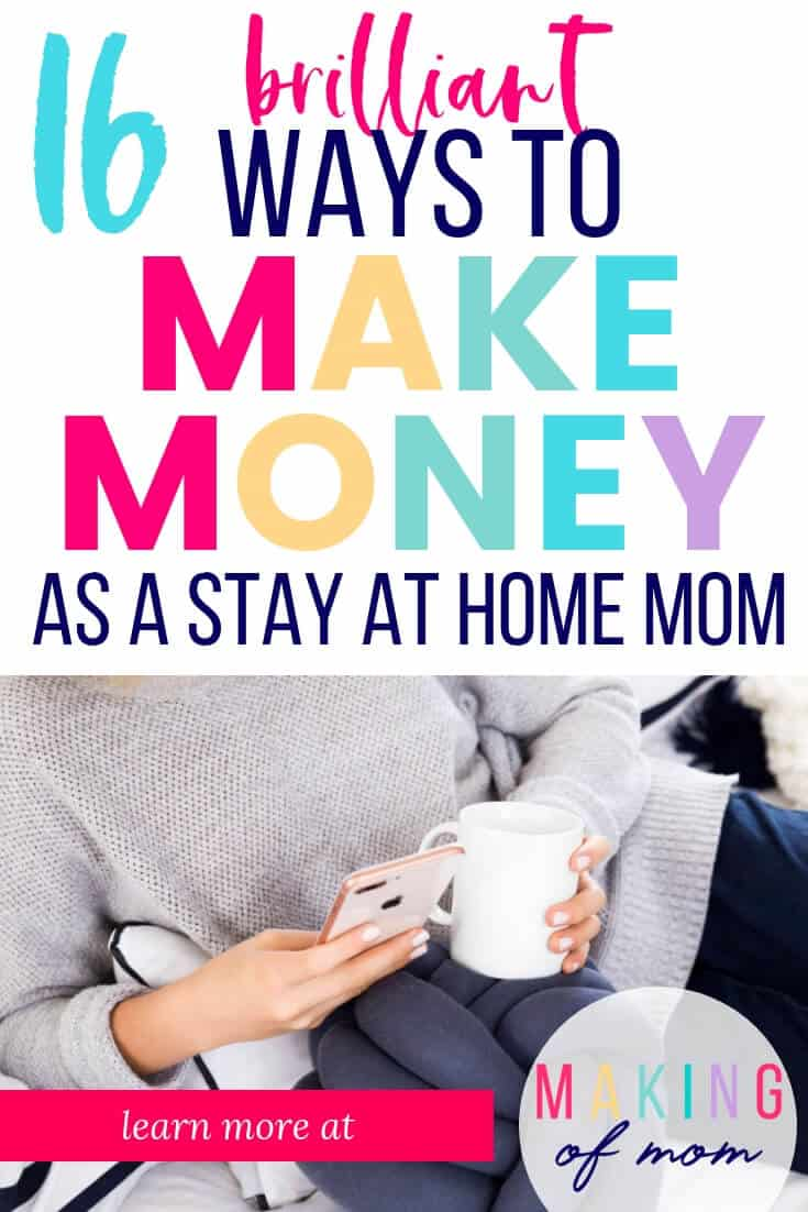 Stay At Home Mom Jobs Ideas: 15 Smart Ideas For A Stay At Home Mom To Make Money