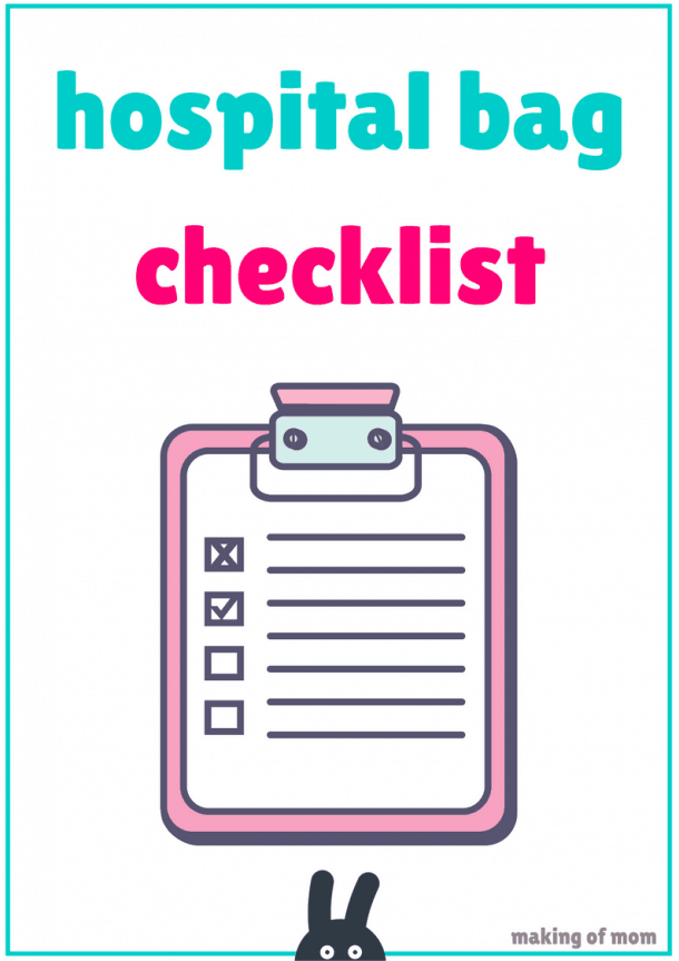 hospital bag checklist(3)