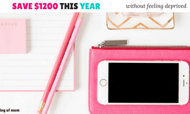 Save Over $1200 In a year – Reverse 52 Week Saving Plan
