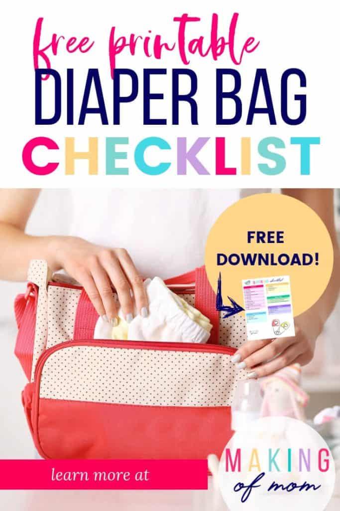diaper bag checklist (1)