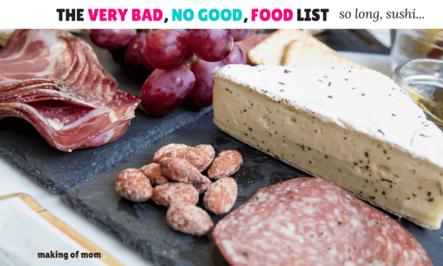 The Very Bad, No Good Foods List