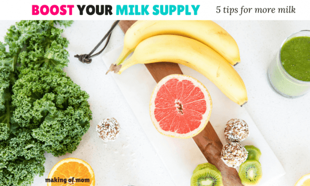 6 Breastfeeding Tips to Increase Your Milk Supply
