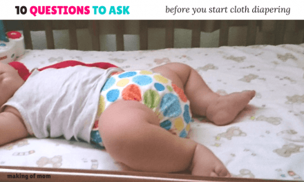 10 Questions You Need to Ask Yourself Before Starting Cloth Diapering