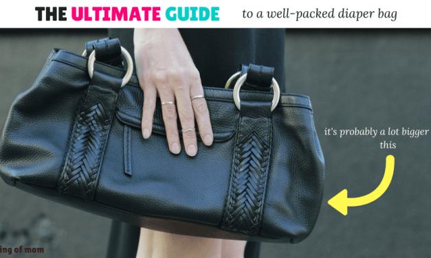 The Ultimate Diaper Bag Checklist