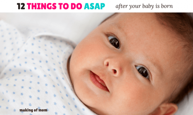 13 Things to Add to Your To-Do List When Your Baby Arrives