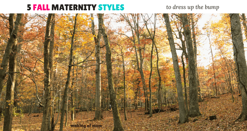 5 Fall Maternity Styles for the Mom to Be