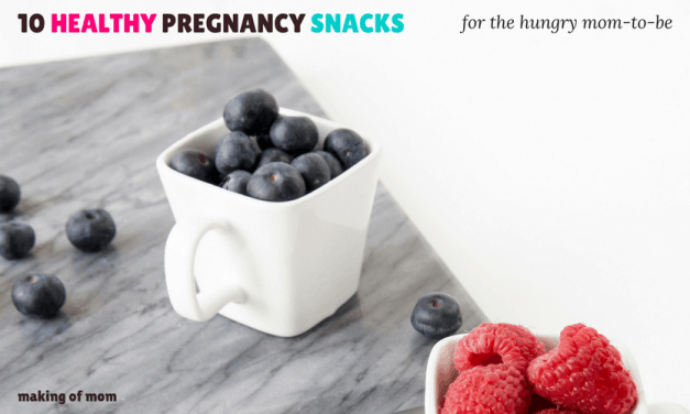 10 Super Healthy Pregnancy Snacks for the Hungry Mom-to-Be