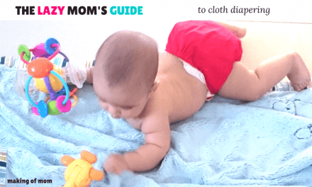 The Lazy Mom's Complete Guide to Cloth Diapers