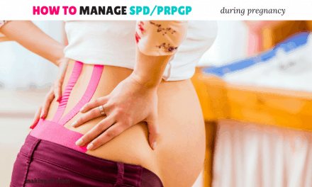 How to Get Relief from Symphysis Pubis Dysfunction/Pelvic Girdle Pain