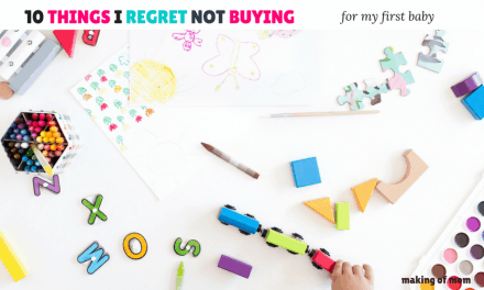 10 Things I Regret NOT Buying for My Baby