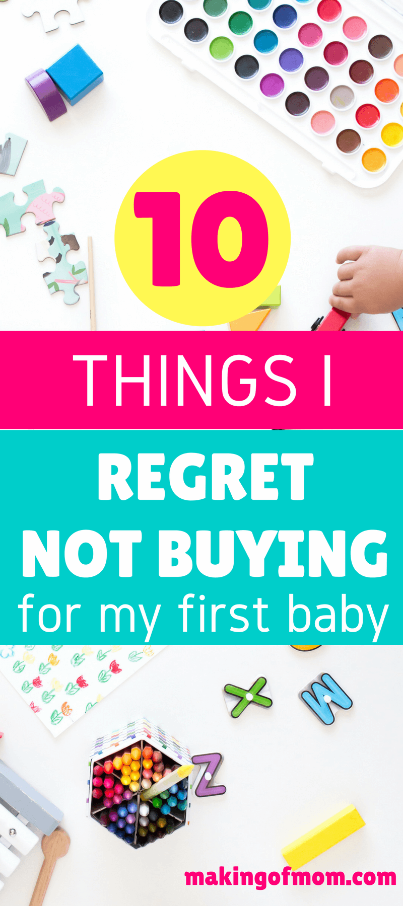 Pinterest is full of lists of what not to buy when it comes to baby gear. Well, here's my list of essentials I wished I had bought for my baby (my answer may surprise you). Are you on the fence about any of these items too? #babygear #babyessentials #newbaby