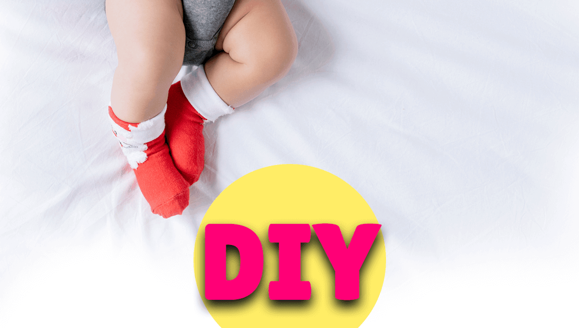 DIY Baby Christmas Keepsake Bauble