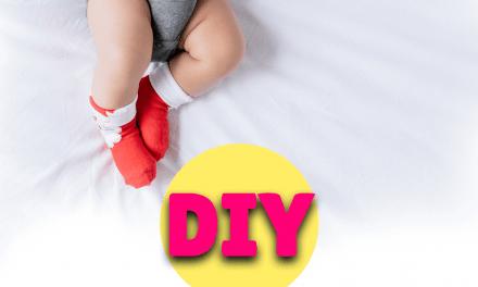 DIY Baby Christmas Keepsake Bauble