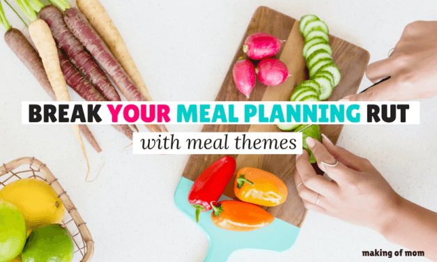Break Out Of Your Dinner Rut With this Simple Meal Planning Schedule