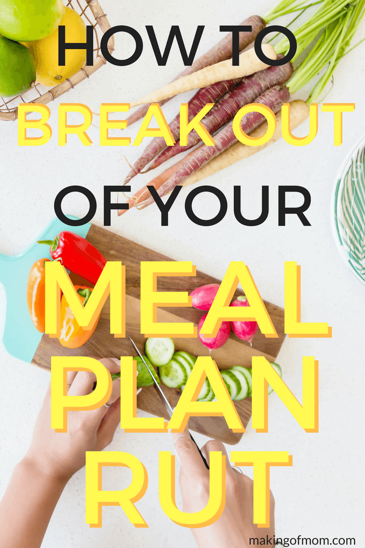 Meal planning is one of those things... you start out strong and full of enthusiasm, but then life takes over and you get stuck in a rut eating the same meals over and over. This meal plan shows you how to create theme nights to shake things up!