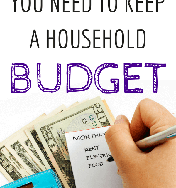 7 Reasons You Need To Keep A Household Budget