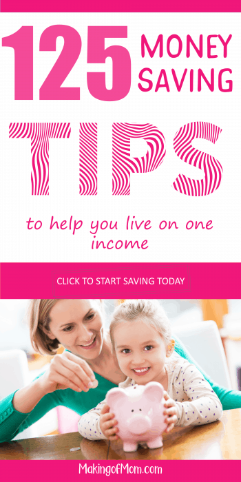 Working out how to budget going from two incomes to one was NOT EASY. Living on a single income is hard when you're not used to it. These are awesome tips if you're starting a family and need frugal living ideas.