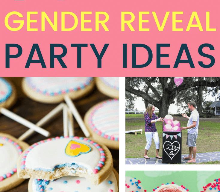 19 Super Fun Gender Reveal Party Ideas