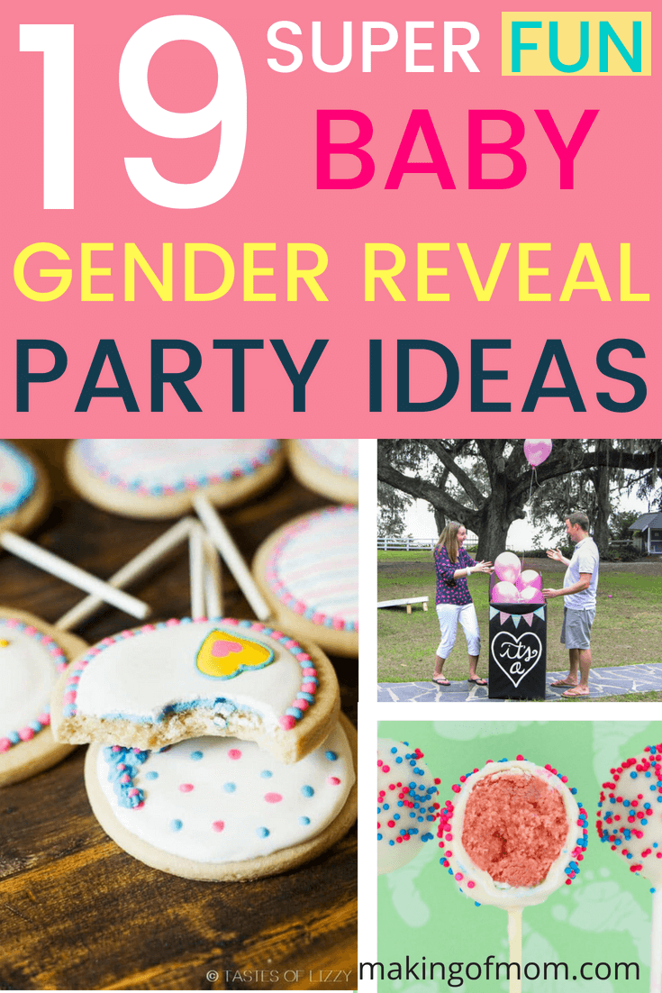 19 super fun gender reveal party ideas making of mom