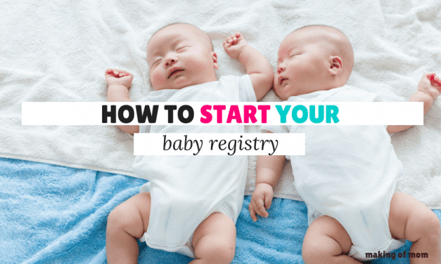How to Start Your Baby Registry