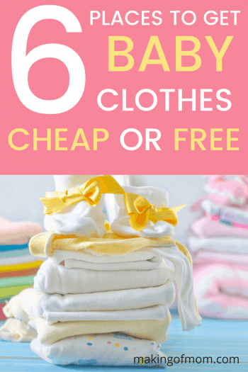Where to Buy Cheap Baby Clothes