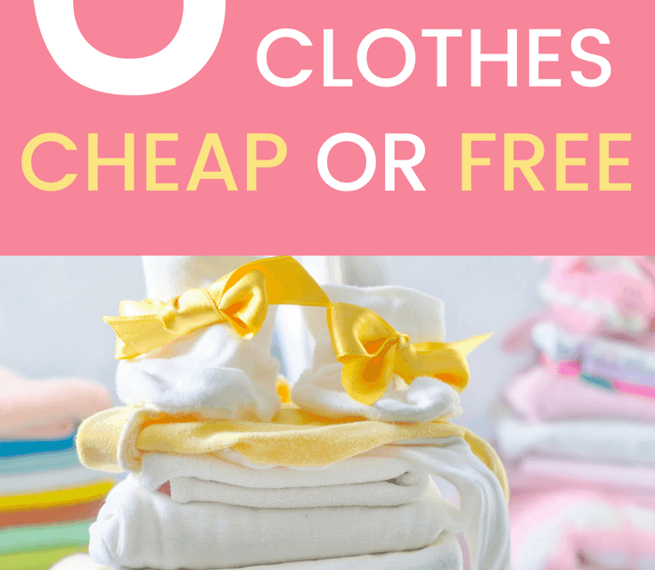 eaef3ef396f7 Where to Buy Cheap Baby Clothes  6 Places to Get Cheap (or Free ...