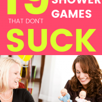 19 Baby Shower Game Ideas that Don't Suck!