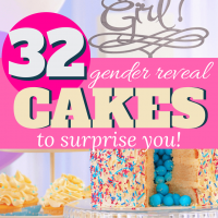 Boy or Girl? 32 Sweet Gender Reveal Cake Ideas to Surprise Your Friends (and Yourself)