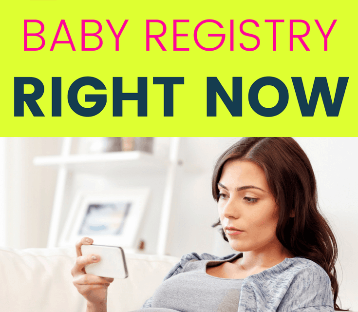 7 Reasons You Should Start a Baby Registry (Right Now!)