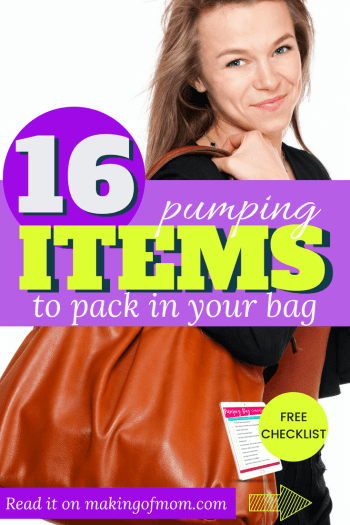 What to Pack In Your Breast Pump Bag