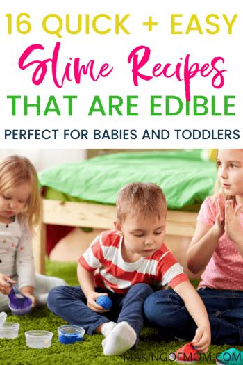 Edible Slime Recipes