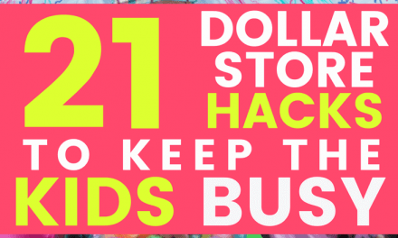 21 Kids Dollar Store Hacks That Will Keep Them Busy