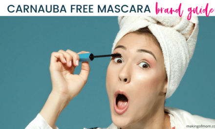 Mascara That Doesn't Contain Carnauba Wax (AKA Copernicia Cerifera)