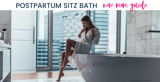 Postpartum Sitz Bath: What Every New Mom Needs to Know