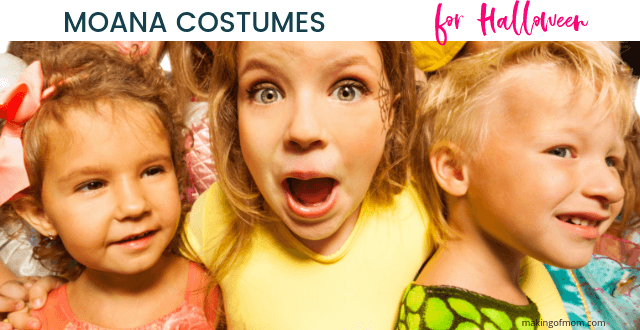 Moana Halloween Costume Ideas for Babies and Toddlers