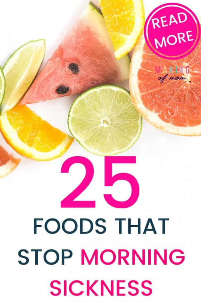 morning sickness food remedies (2)