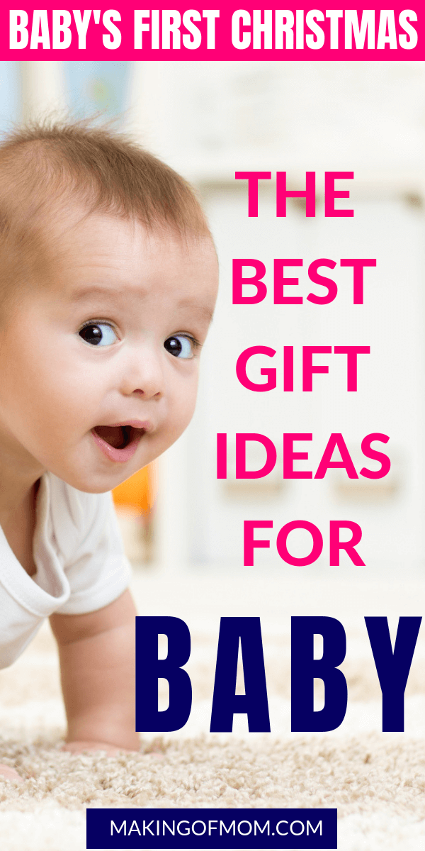 perfect gifts for babys first christmas (5)  sc 1 st  Making of Mom & Babyu0027s First Christmas - 7 Perfect Gift Ideas for Young Babies ...