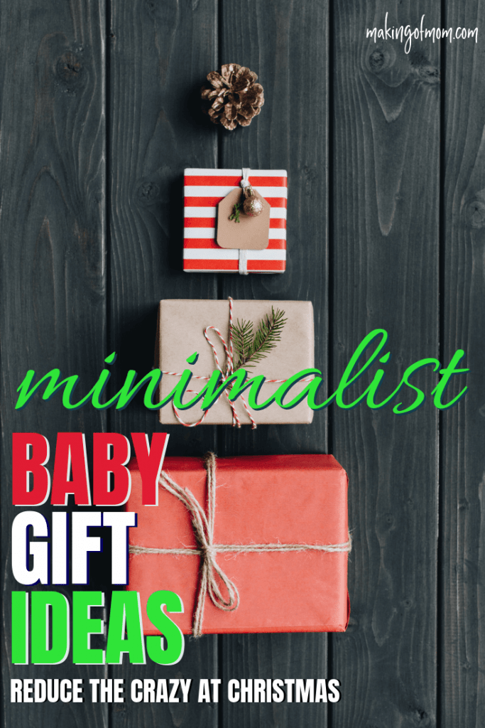 minimalist gift ideas for babies