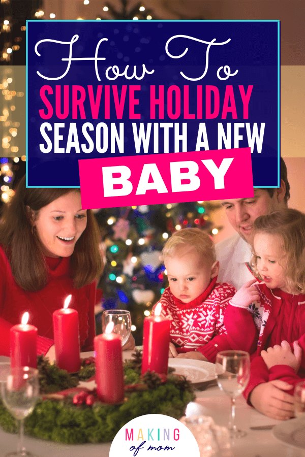surviving holiday season with baby