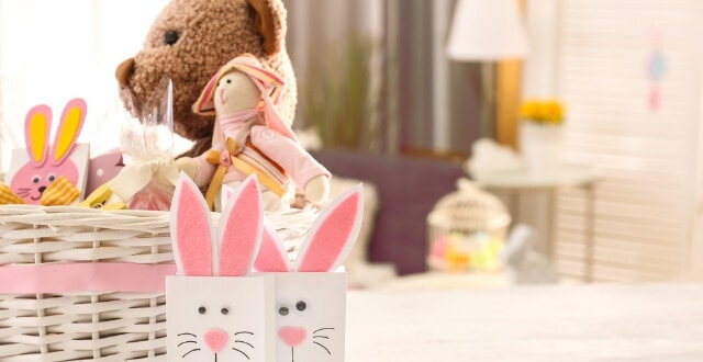 Candy Free Easter Basket Ideas for Baby