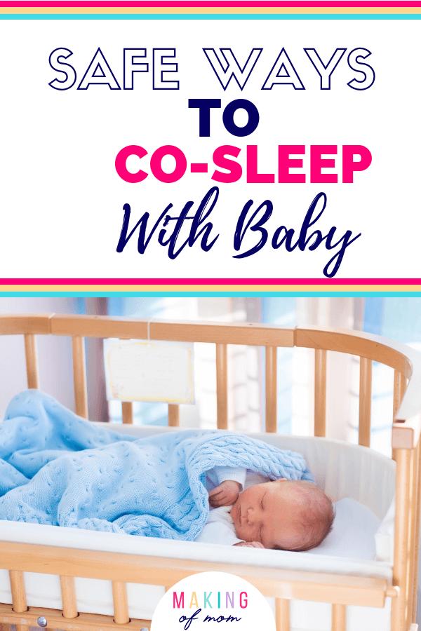 safe co sleeping alternatives