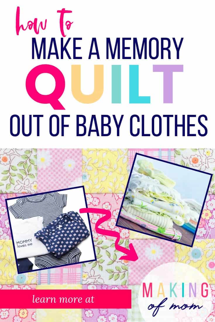 quilt from baby clothes (1)