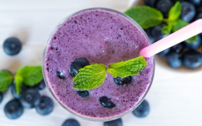 Blueberry Lactation Smoothie
