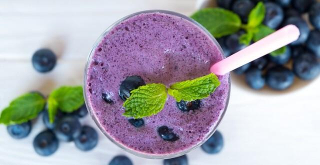 Blueberry Lactation Smoothie