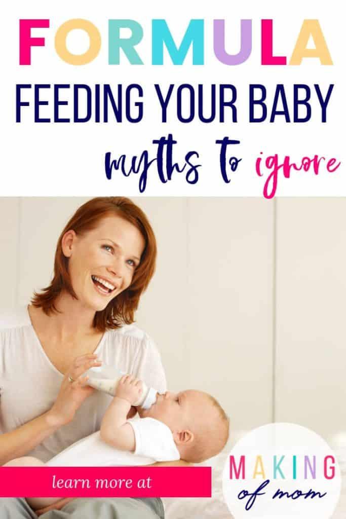 formula feeding facts