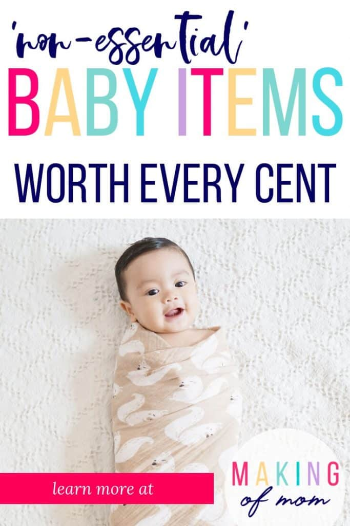 essential baby must haves