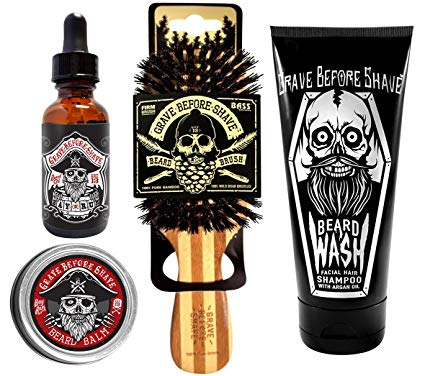 Grave Before Shave - Beard Care Pack (Bay Rum Blend)