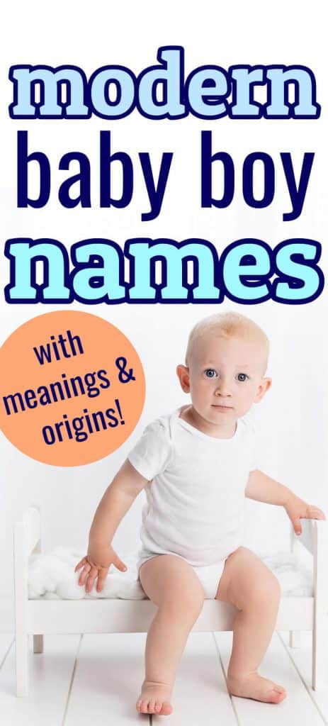 30+ Modern Baby Boy Names With Cute Nicknames - Making of Mom